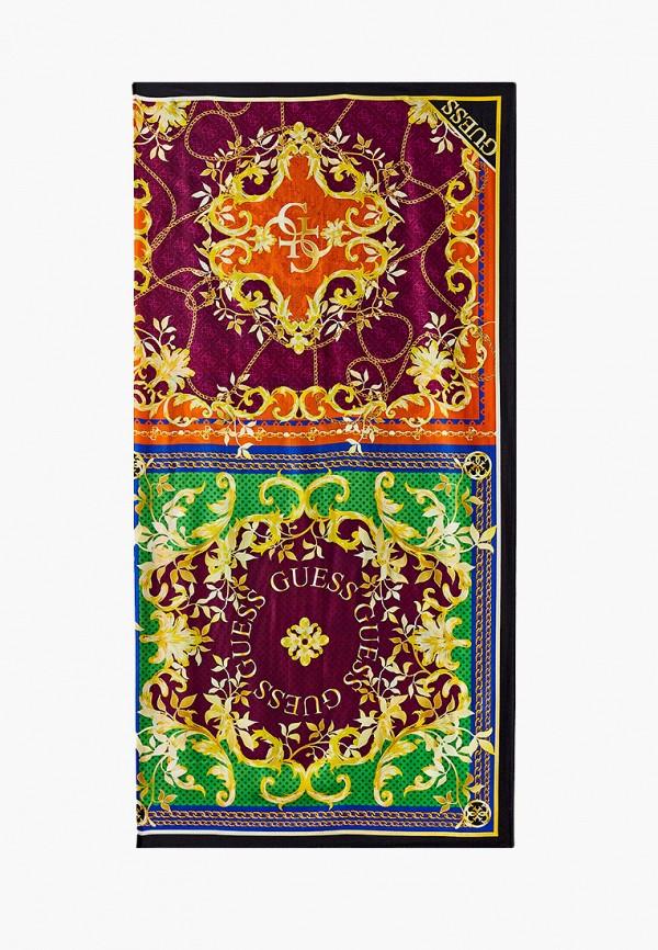 женский платок guess, разноцветный