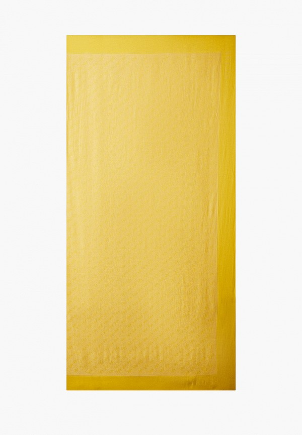 женский платок guess, желтый