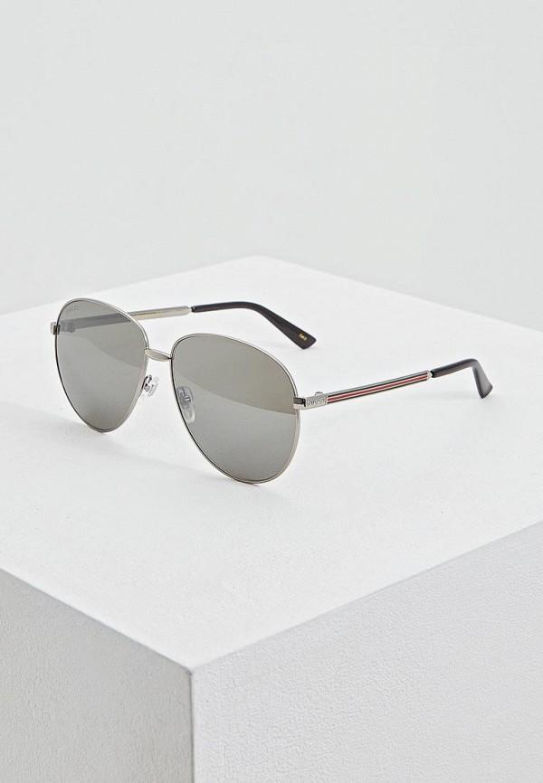 Очки солнцезащитные Gucci Gucci GU641DMCZMR8 очки солнцезащитные gucci gucci gu641dwhqpk1