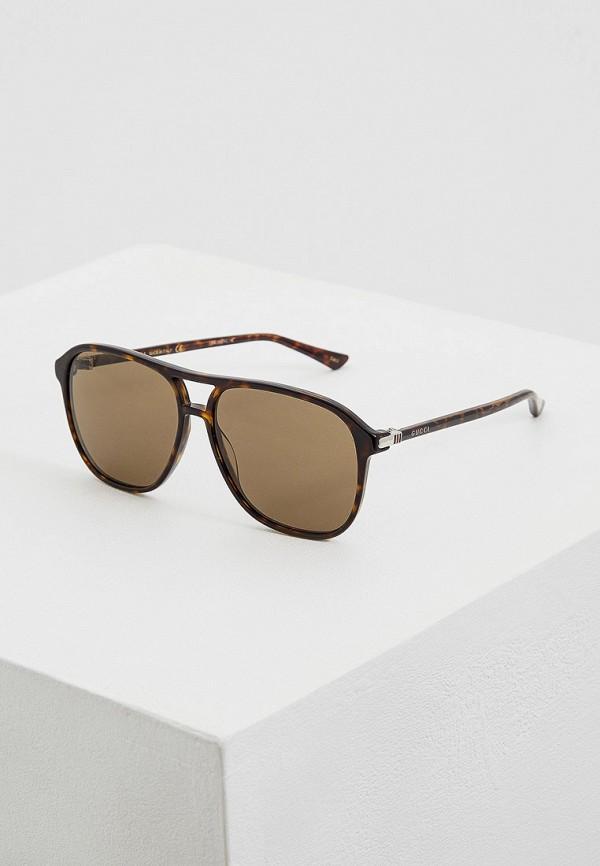 Очки солнцезащитные Gucci Gucci GU641DMFAXW7 очки солнцезащитные gucci gucci gu641dwhqpk1