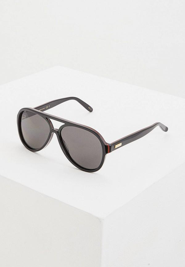 цена Очки солнцезащитные Gucci Gucci GU641DMGANQ5 онлайн в 2017 году
