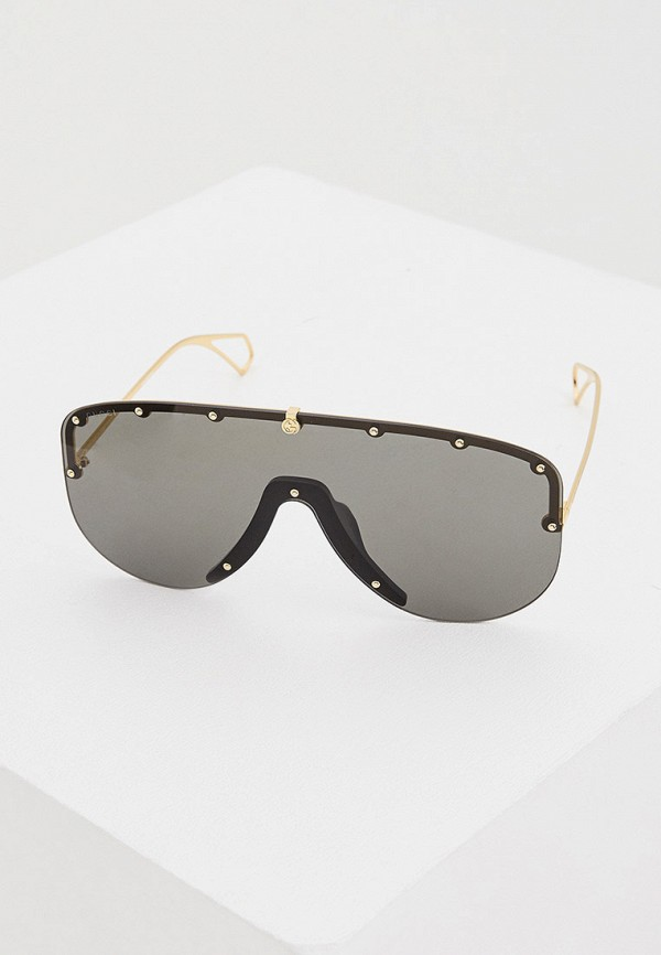 мужские солнцезащитные очки gucci, золотые