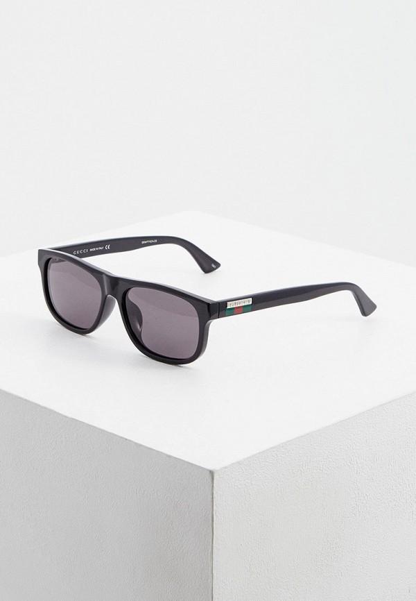 мужские солнцезащитные очки gucci, черные