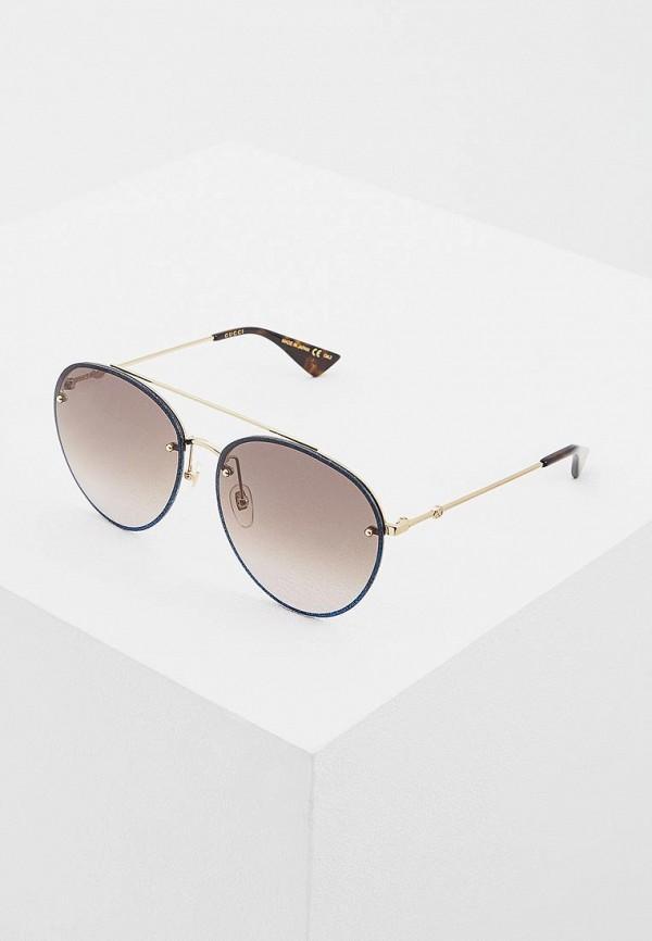 Очки солнцезащитные Gucci Gucci GU641DUCZMT4 солнцезащитные очки gucci солнцезащитные очки