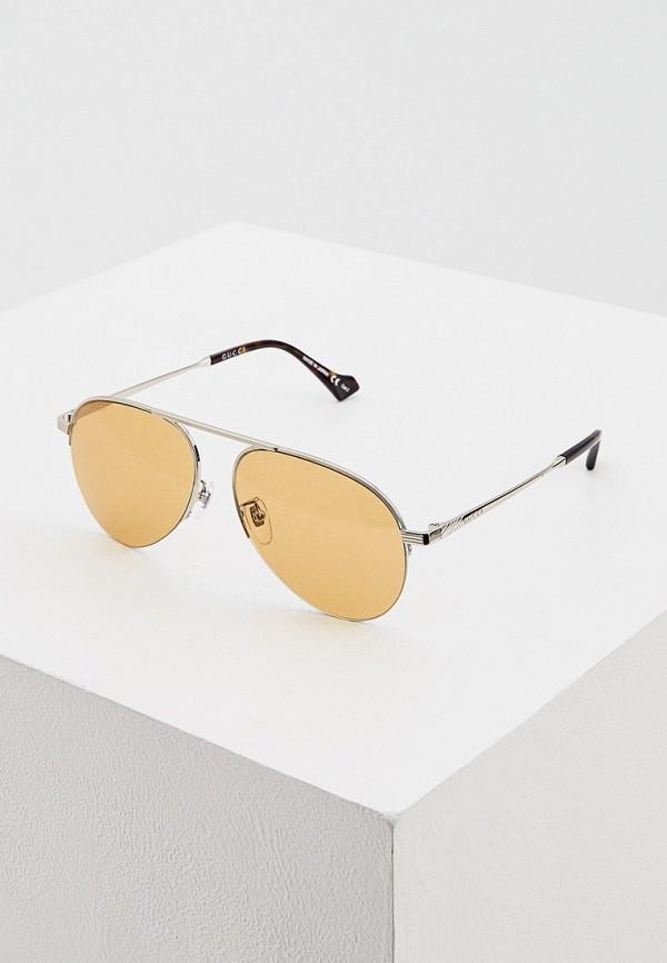 женские солнцезащитные очки gucci, желтые