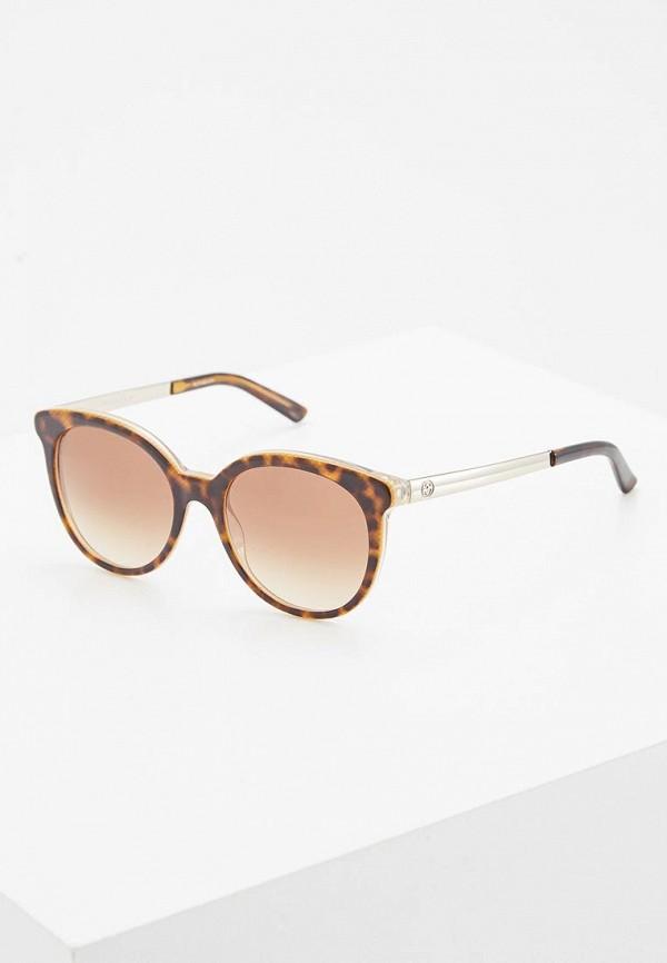 Очки солнцезащитные Gucci Gucci GU641DWBNF13 gucci повязка из сетки с монограммами