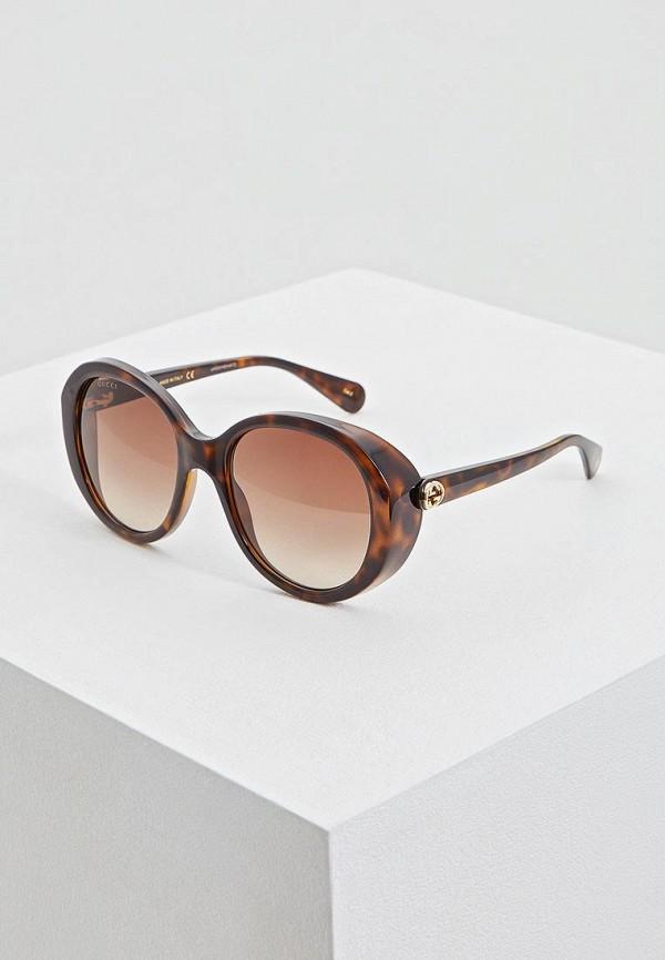 Круглые и овальные очки Gucci