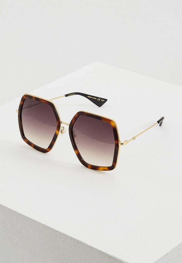 Очки солнцезащитные Gucci Gucci GU641DWFESK3 очки солнцезащитные gucci gucci gu641dwzas55