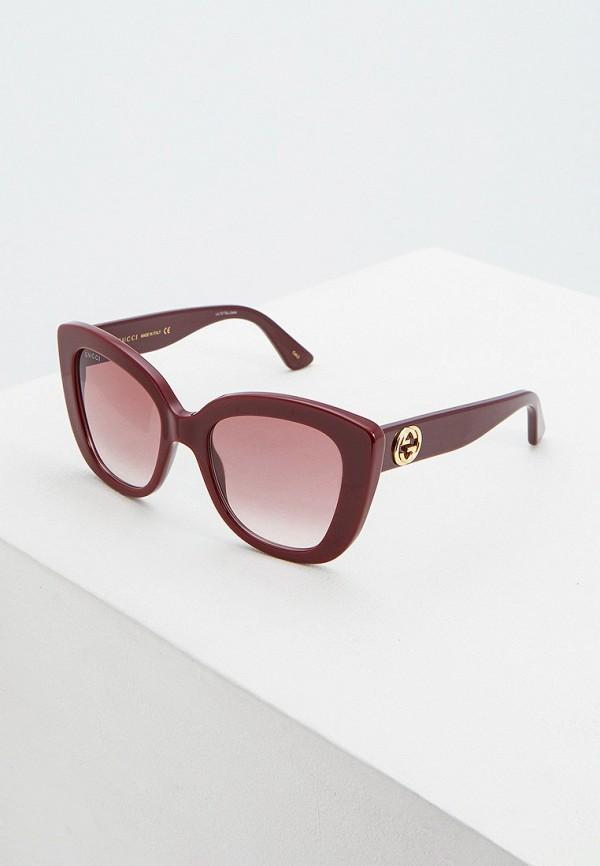 Очки солнцезащитные Gucci Gucci GU641DWFNYS2 солнцезащитные очки gucci солнцезащитные очки