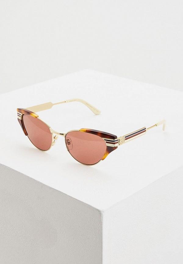Очки солнцезащитные Gucci Gucci GU641DWFNYT3 очки солнцезащитные gucci gucci gu641dwzas55