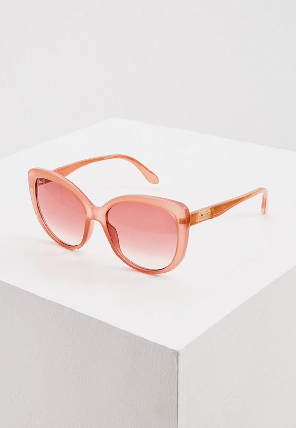 женские квадратные солнцезащитные очки gucci, оранжевые