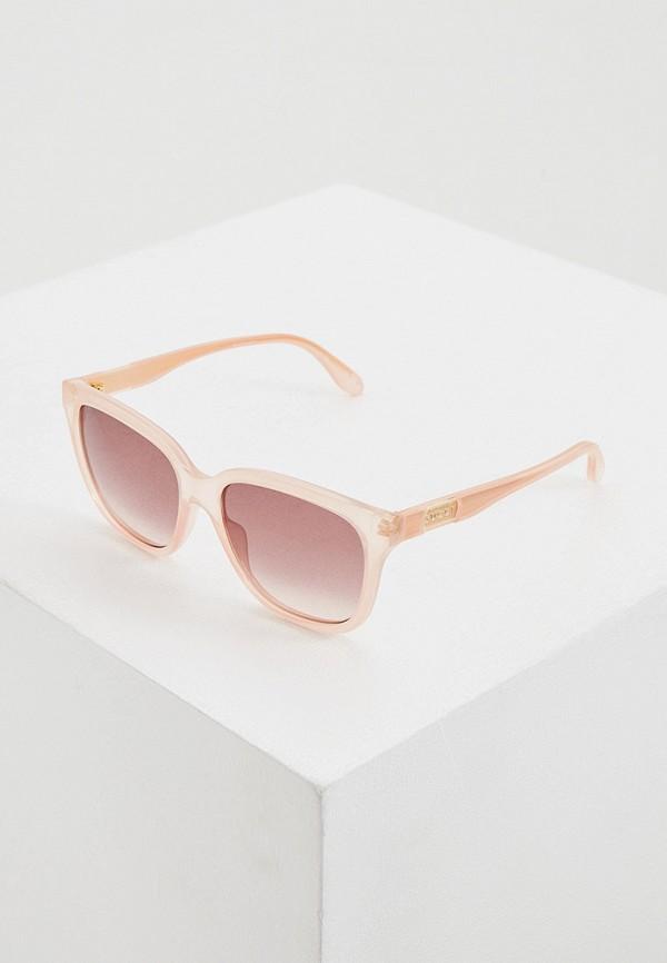 женские круглые солнцезащитные очки gucci, бежевые