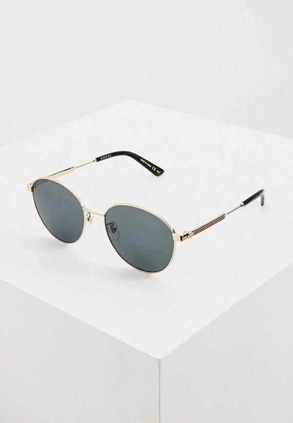 женские круглые солнцезащитные очки gucci, разноцветные