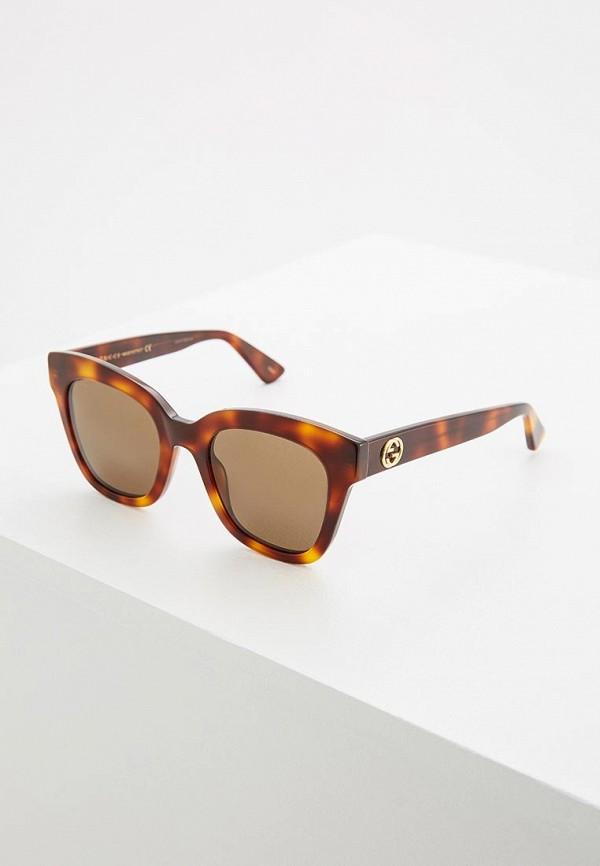 Очки солнцезащитные Gucci Gucci GU641DWQYN90 очки солнцезащитные gucci gucci gu641dwqyn90