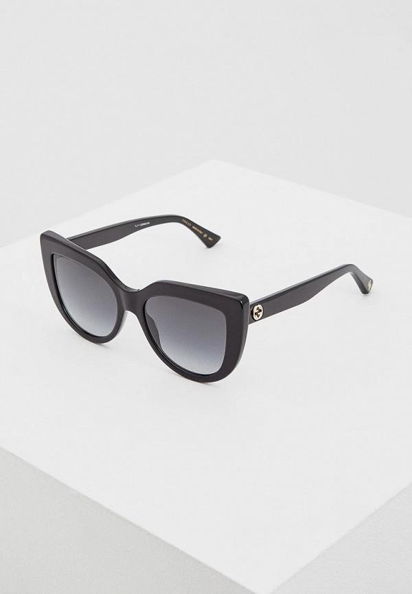 Очки солнцезащитные Gucci Gucci GU641DWZAS32 очки солнцезащитные gucci gucci gu641dwhav12