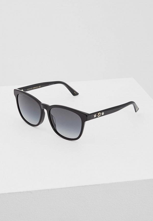 цена Очки солнцезащитные Gucci Gucci GU641DWZAS40 онлайн в 2017 году