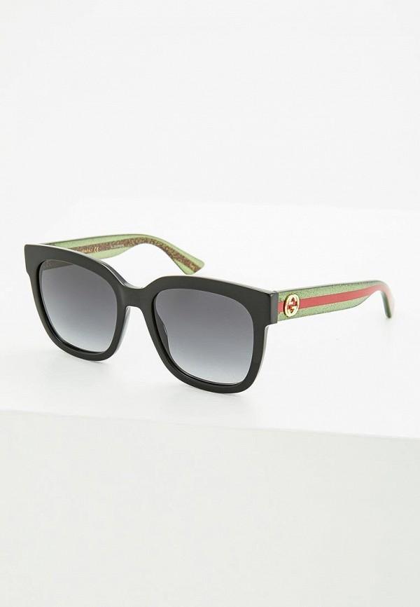Очки солнцезащитные Gucci Gucci GU641DWZAS52 солнцезащитные очки diesel солнцезащитные очки dl 0122 52v