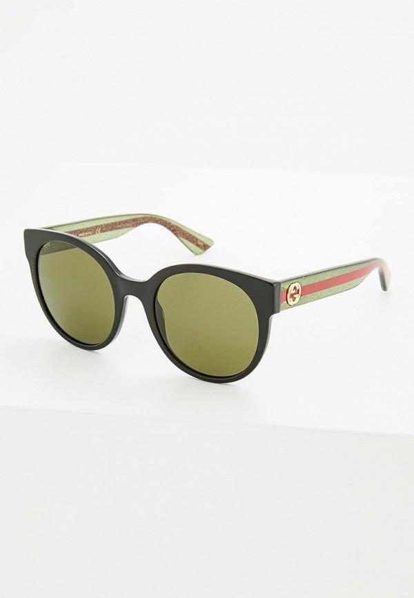 Очки солнцезащитные Gucci Gucci GU641DWZAS53 gucci kids кеды с монограммами