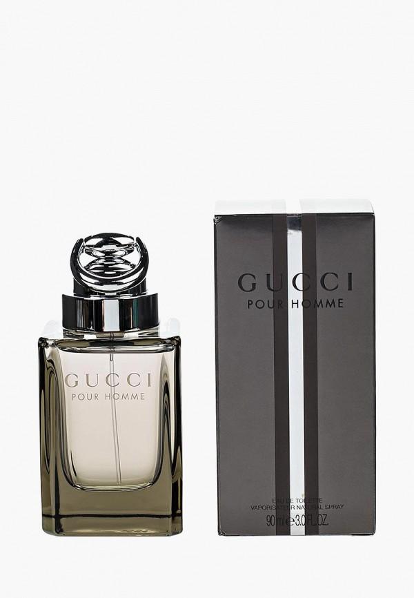 Купить Туалетная вода Gucci, By Pour Homme 90 мл, GU641LMEF157, белый, Весна-лето 2018