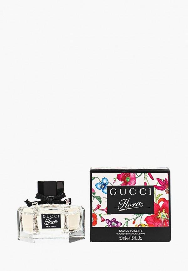 Купить Туалетная вода Gucci, Flora 50 мл, GU641LWEF156, белый, Осень-зима 2018/2019