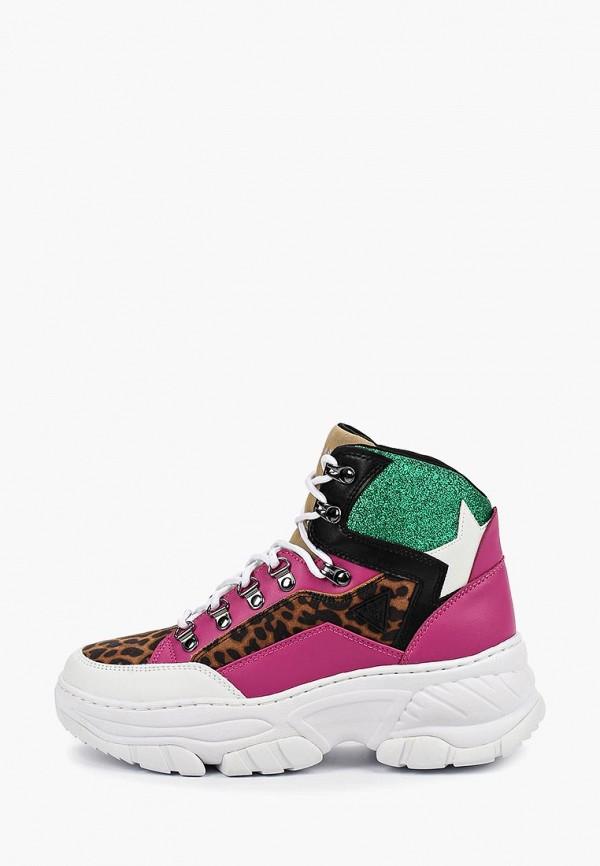 Фото - Женские кроссовки Guess разноцветного цвета