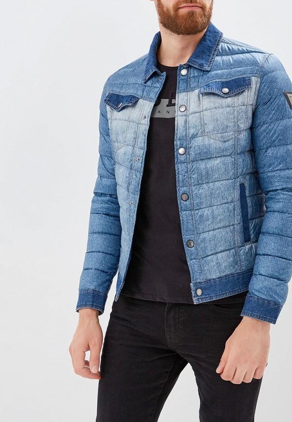 Куртка утепленная Guess Jeans Guess Jeans GU644EMBUBC0 куртка кожаная guess jeans guess jeans gu644ewvzj75