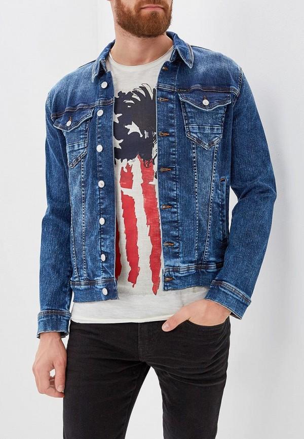 Куртка джинсовая Guess Jeans Guess Jeans GU644EMBUBD0 куртка кожаная guess jeans guess jeans gu644ewvzj75
