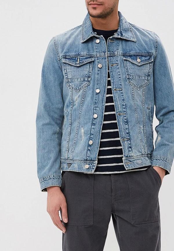 где купить Куртка джинсовая Guess Jeans Guess Jeans GU644EMDKPM1 дешево