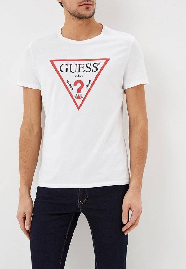 Купить Футболка Guess Jeans, gu644emdkpm8, белый, Весна-лето 2019