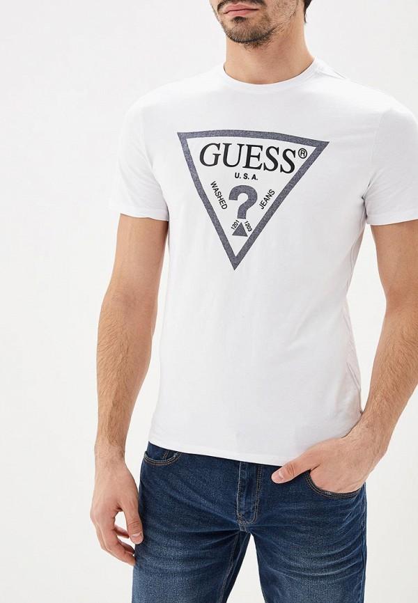Купить Футболка Guess Jeans, gu644emdkpn4, белый, Весна-лето 2019