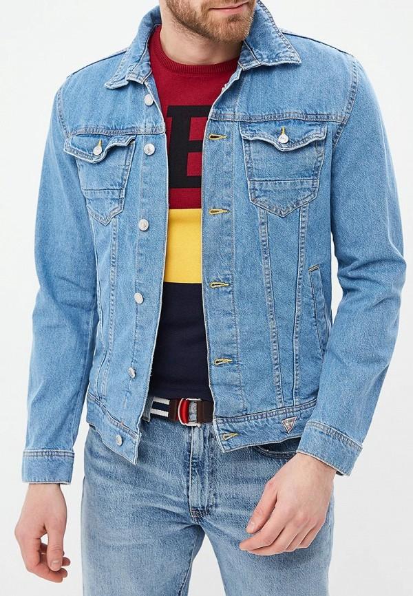 Куртка джинсовая Guess Jeans Guess Jeans GU644EMEAML4 куртка утепленная guess jeans guess jeans gu644emxzg43