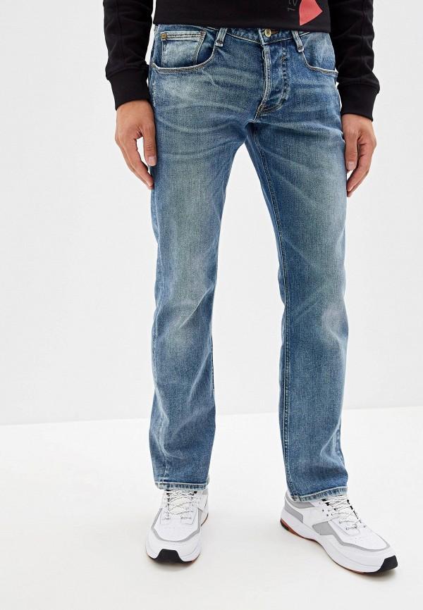 мужские прямые джинсы guess, синие