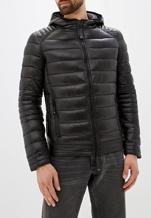 мужская куртка guess, черная