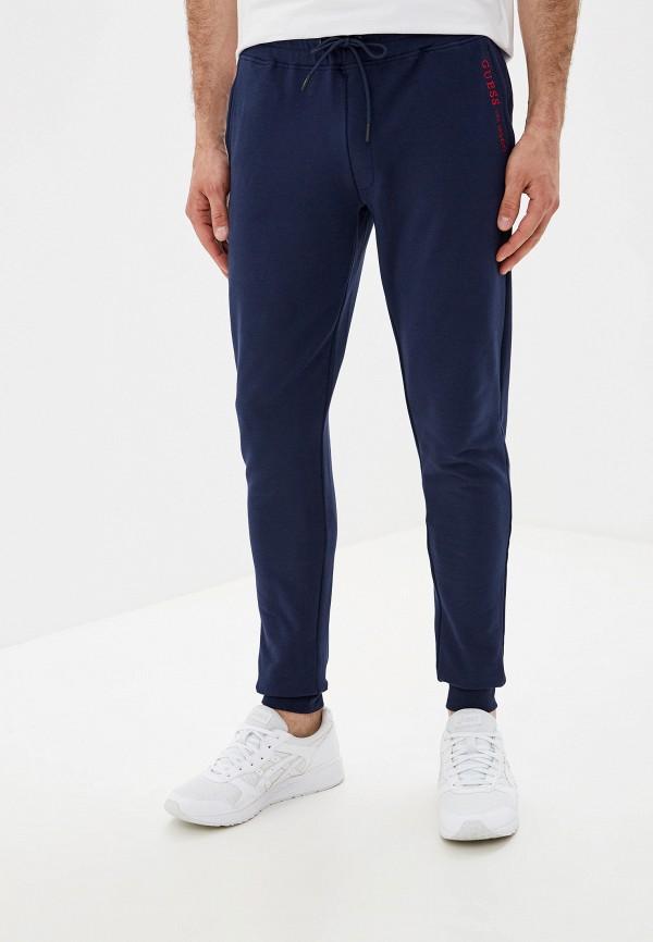 мужские спортивные спортивные брюки guess, синие