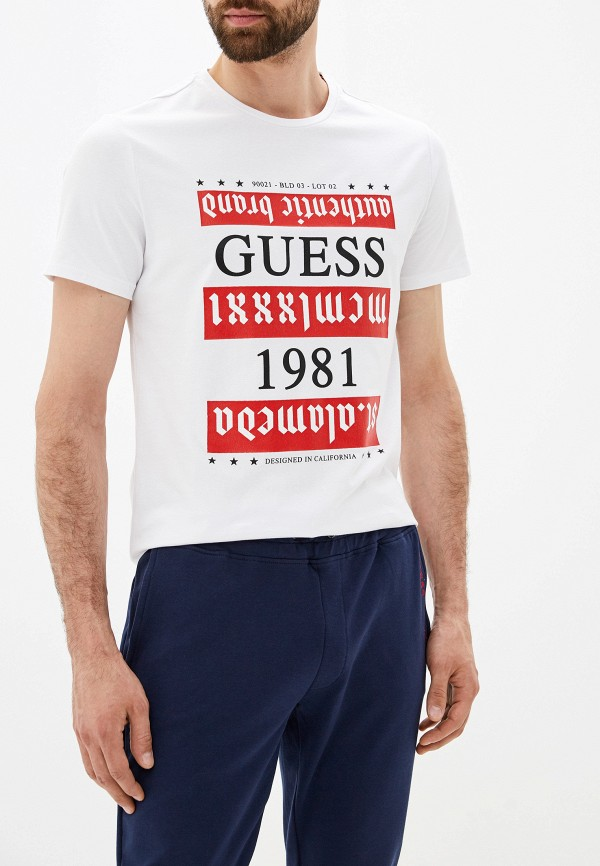 Футболка Guess Jeans Guess Jeans GU644EMFNLL5 футболка guess jeans guess jeans gu644embubb2
