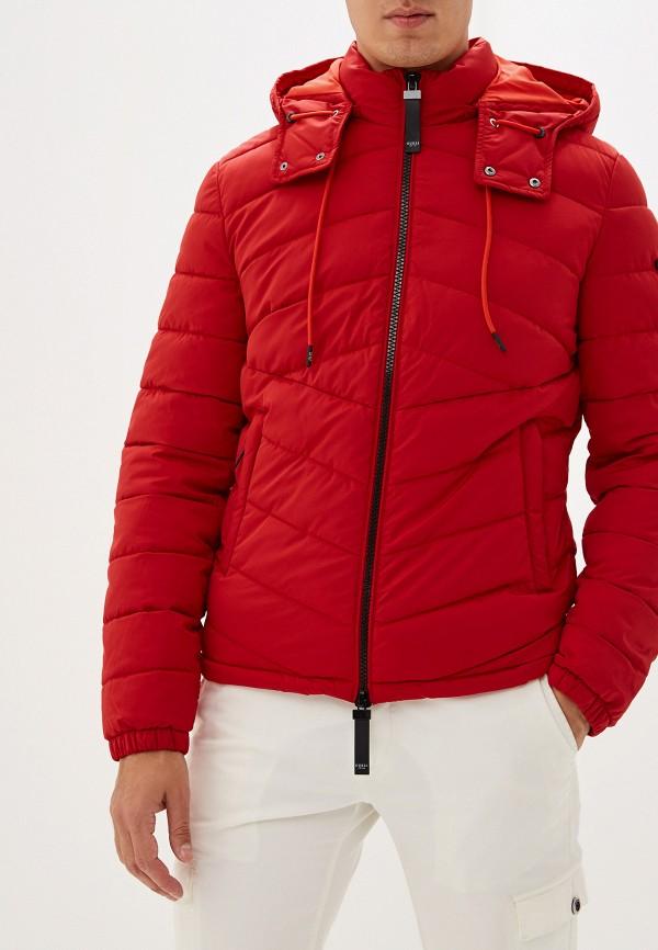 мужская куртка guess, красная