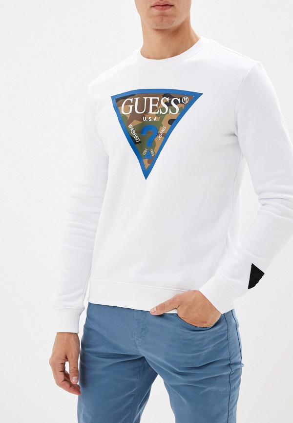 купить Свитшот Guess Jeans Guess Jeans GU644EMGHAY4 недорого