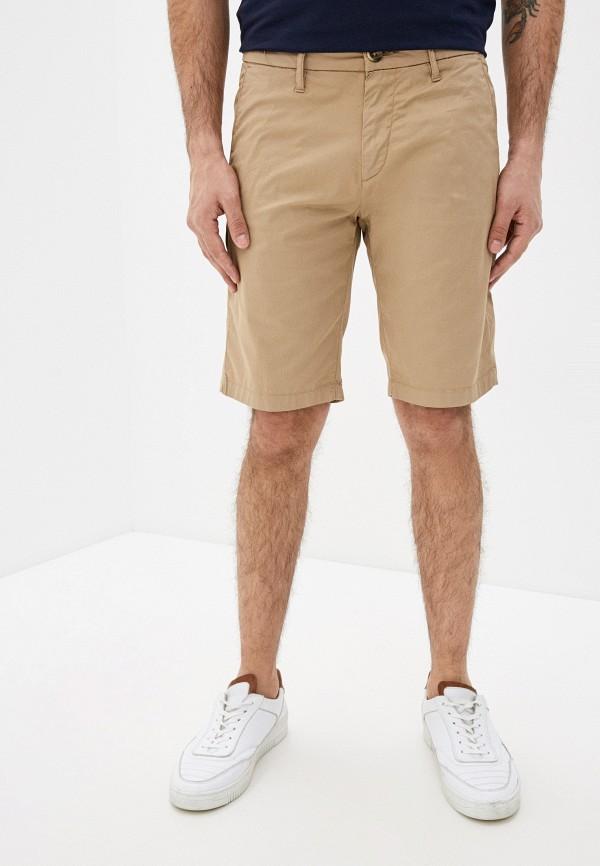 мужские повседневные шорты guess, бежевые