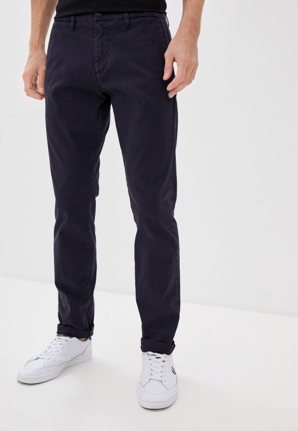 мужские брюки чинос guess, синие