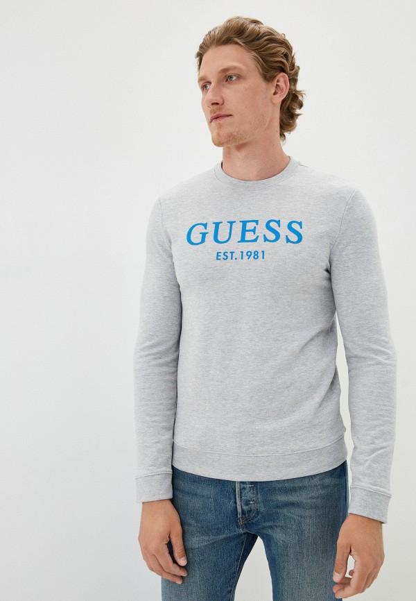 мужской свитшот guess, серый