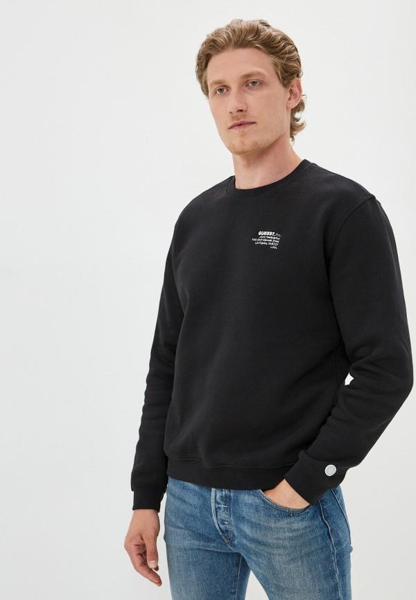 мужской свитшот guess, черный