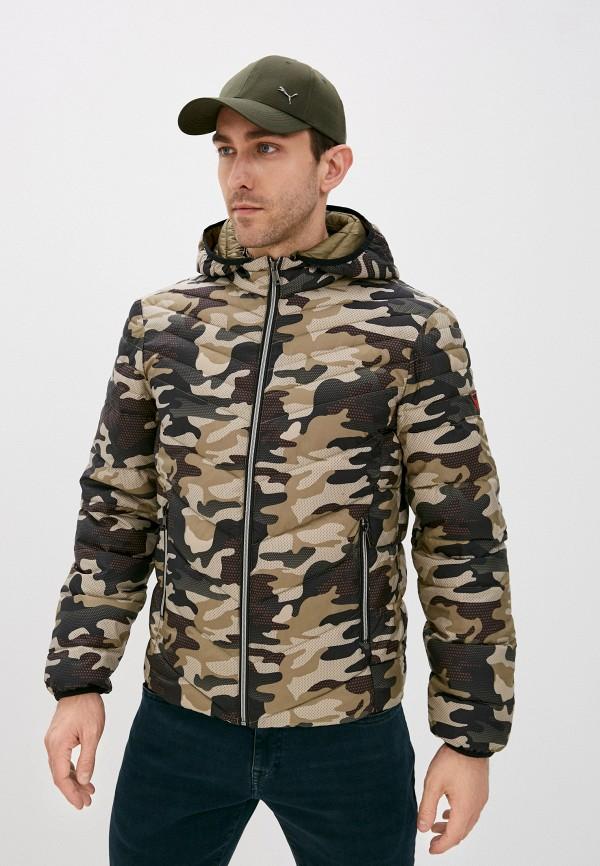 мужская куртка guess, разноцветная