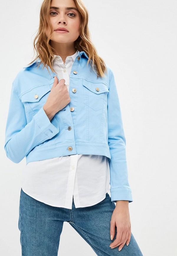Куртка джинсовая Guess Jeans Guess Jeans GU644EWDKOL7 куртка утепленная guess jeans guess jeans gu644emxzg43