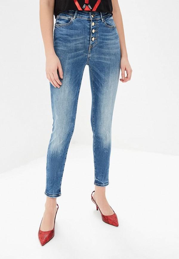 Купить Джинсы Guess Jeans, gu644ewdkon4, голубой, Весна-лето 2019