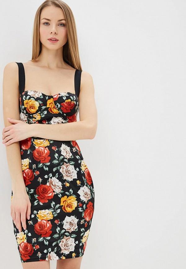 Купить Платье Guess Jeans, gu644ewdkoo7, черный, Весна-лето 2019