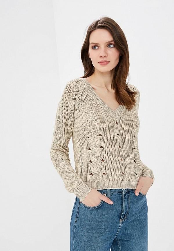 Купить Пуловер Guess Jeans, gu644ewdkoq0, золотой, Весна-лето 2019
