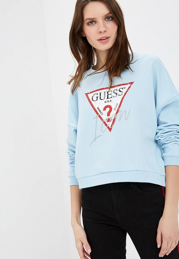 Свитшот Guess Jeans Guess Jeans GU644EWDKOQ1 guess w10248g1