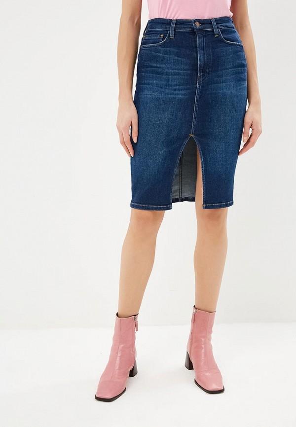 Юбка джинсовая Guess Jeans Guess Jeans GU644EWDKOQ9 guess юбка guess w61d35 d2100 bsag