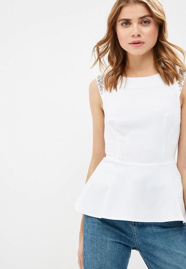 Купить Топ Guess Jeans, gu644ewdkou7, белый, Весна-лето 2019