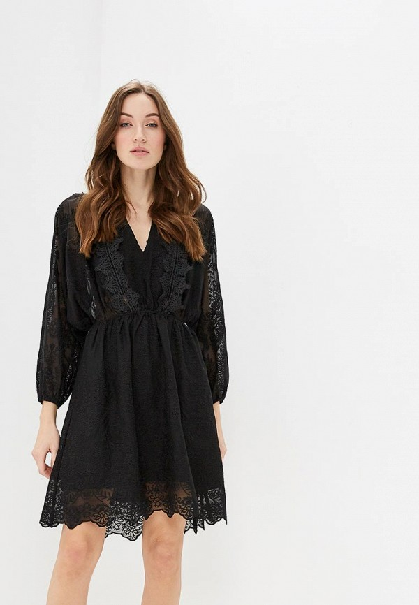 Купить Платье Guess Jeans, gu644eweasb8, черный, Весна-лето 2019